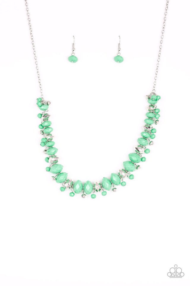 BRAGs To Riches Green Necklace