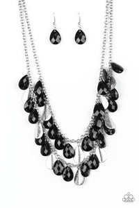 Life Of The FIESTA Black Necklace