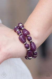 Show Us HUEs Boss! Purple Bracelet