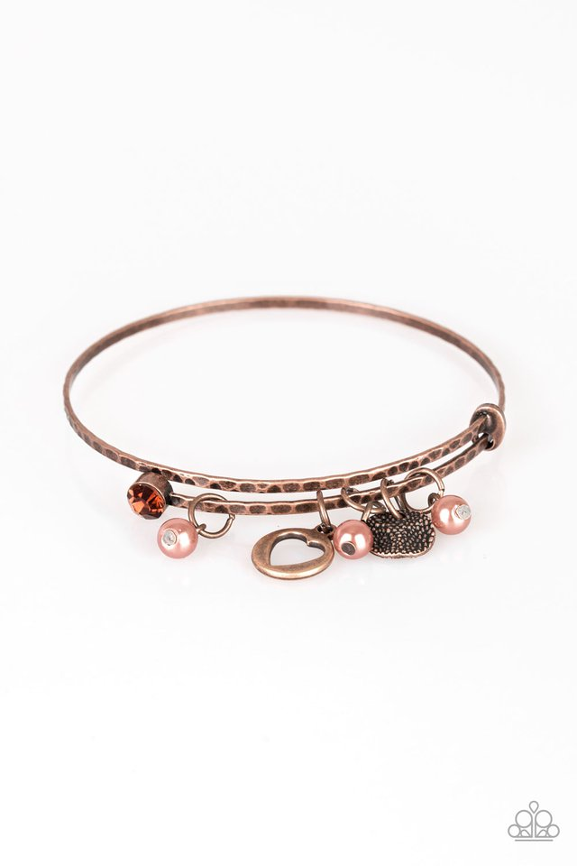 Truly True Love Copper Bracelet