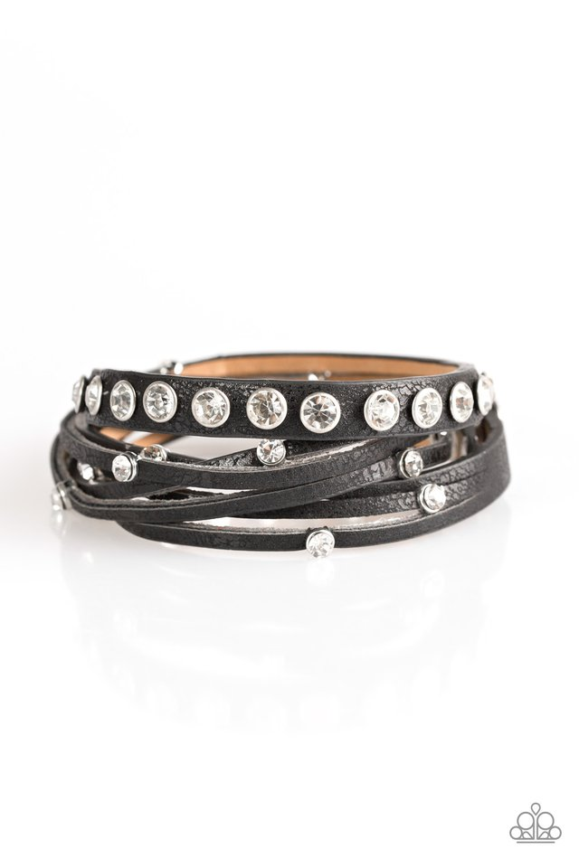 CATWALK It Off Black Urban Bracelet