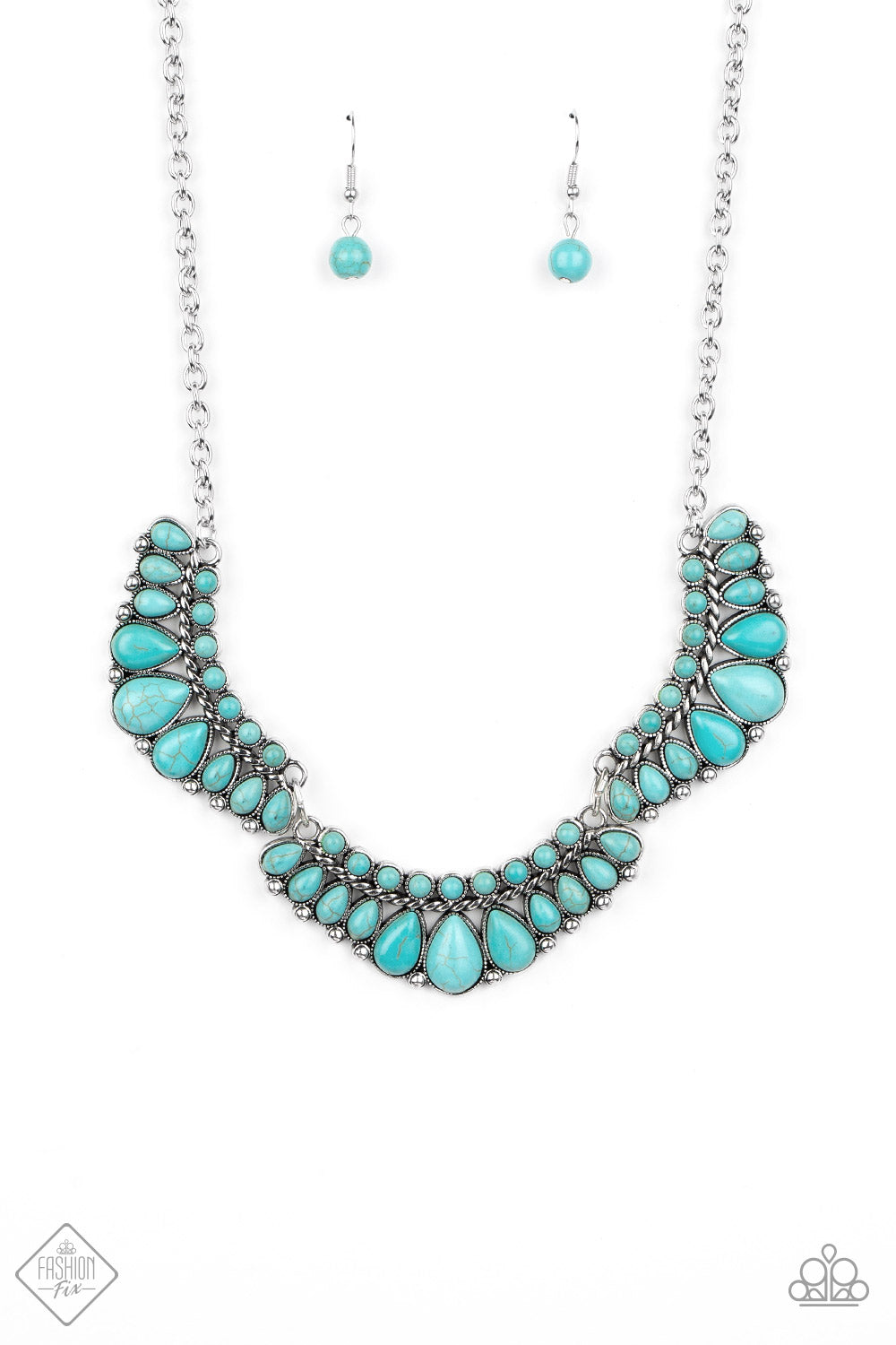Naturally Native Blue Necklace