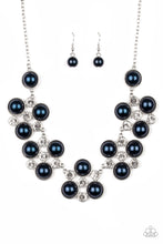 Load image into Gallery viewer, Night at the Symphony Blue Necklace