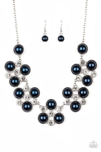 Night at the Symphony Blue Necklace
