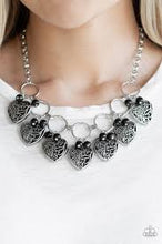 Load image into Gallery viewer, Very Valentine Black Necklace
