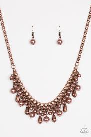 Imperial Idol Copper Necklace