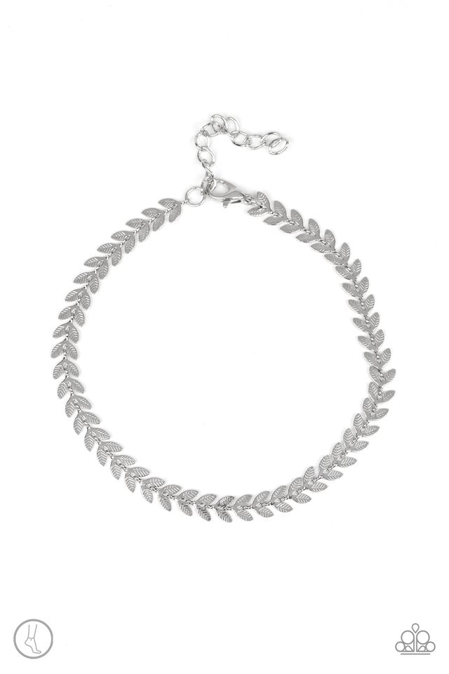 West Coast Goddess Silver Anklet