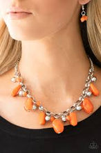 Load image into Gallery viewer, Grand Canyon Grotto Orange Necklace