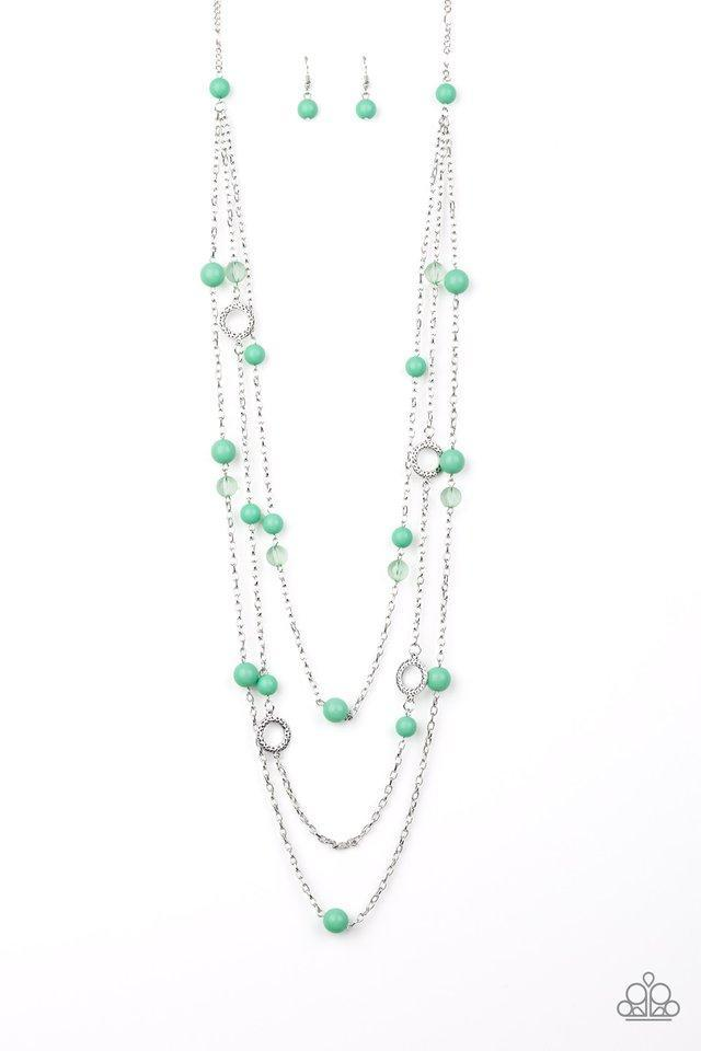 Brilliant Bliss Green Necklace