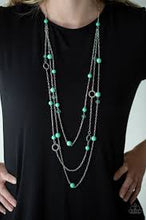 Load image into Gallery viewer, Brilliant Bliss Green Necklace