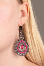 Load image into Gallery viewer, Carnival Courtesan Pink Earring