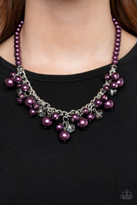 Prim and POLISHED Purple Necklace