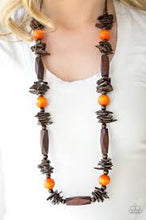 Load image into Gallery viewer, Cozumel Coast Orange Necklace
