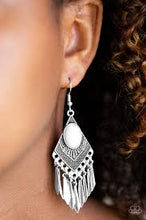 Load image into Gallery viewer, Mostly Monte-ZUMBA Silver Earring