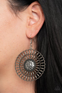 Rustic Groves Silver Earring