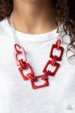 Load image into Gallery viewer, Sizzle Sizzle Red Necklace