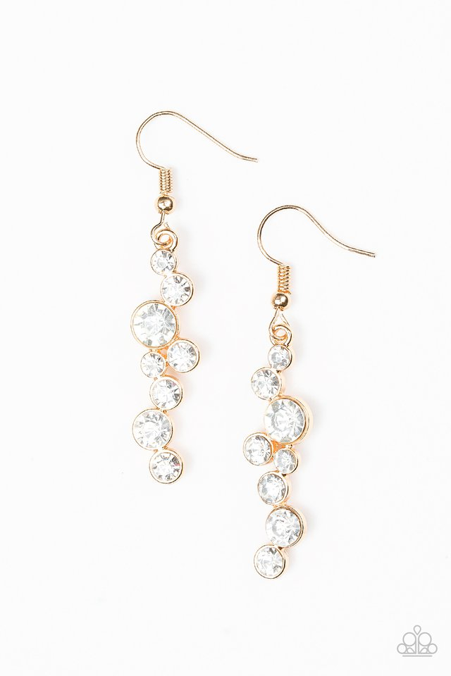Milky Way Magnificence Gold Earring