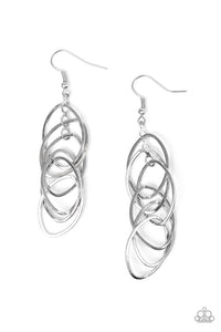 Tangle Tango Silver Earring
