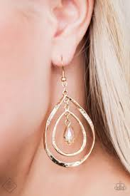 Shine With Confidence Gold Earring