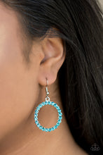 Load image into Gallery viewer, Bubblicious Blue Earring