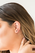 Load image into Gallery viewer, Fire Drill Post Rose Gold Earring