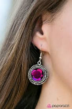 Load image into Gallery viewer, Slay Your Own Dragons Pink Earring