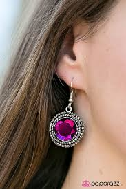 Slay Your Own Dragons Pink Earring