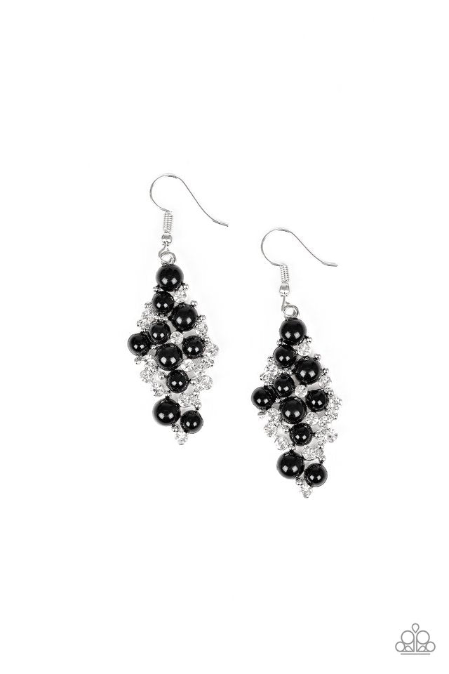Famous Fashion Black Earring