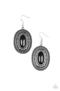 Haute Hacienda Black Earring