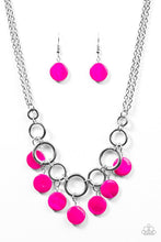 Load image into Gallery viewer, Coastal Adventure Pink Necklace
