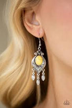 Load image into Gallery viewer, Enchantingly Environmentalist Yellow Earring