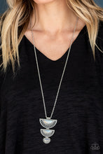 Load image into Gallery viewer, Serene Sheen White Necklace