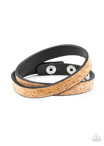 Space Warp Brown Bracelet