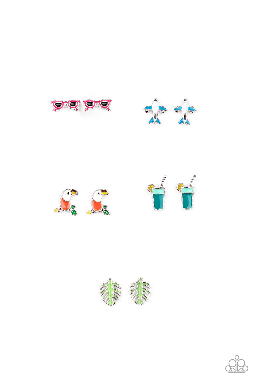 Vacationing Starlet Shimmer Multi Earring