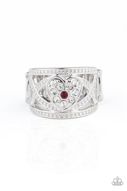 Sweetly Sweetheart Red Ring