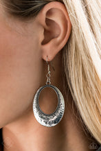 Load image into Gallery viewer, Tempest Texture Silver Earring