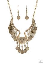 Load image into Gallery viewer, Treasure Temptress Brass Necklace
