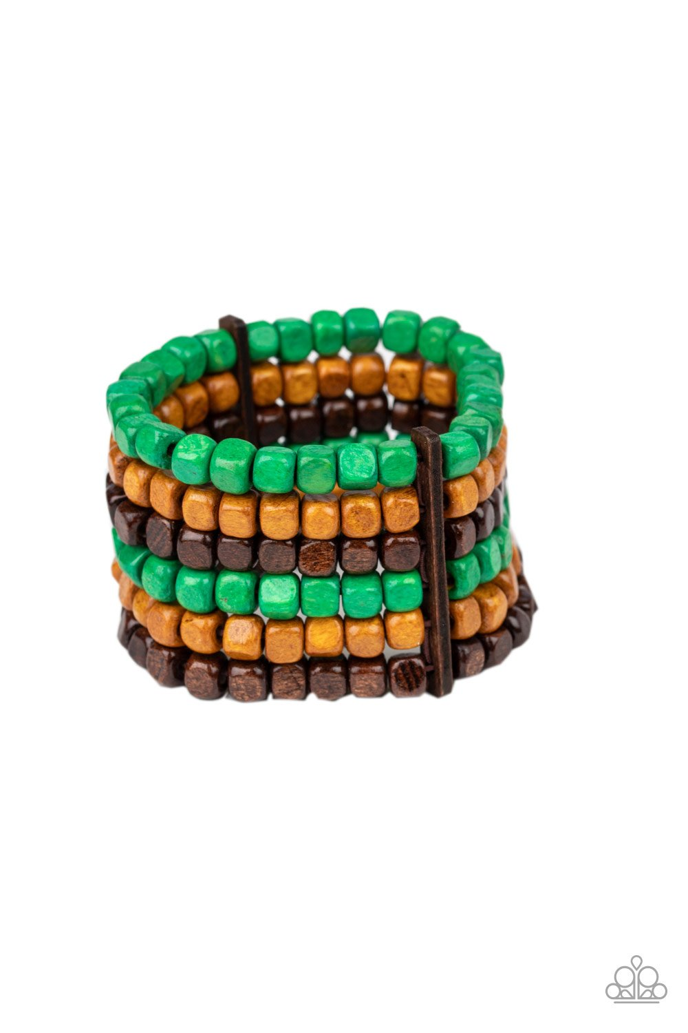 Tropical Tundra Green Bracelet