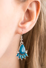 Load image into Gallery viewer, Meant To Bead Blue Earring