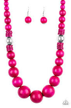 Load image into Gallery viewer, Panama Panorama Pink Necklace