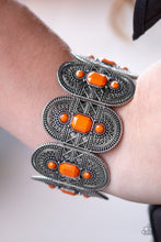 Load image into Gallery viewer, Turn Up the Tropical Heat Orange Bracelet