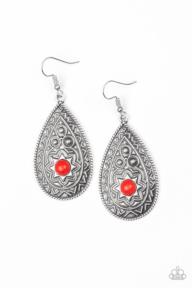 Summer Sol Red Earring