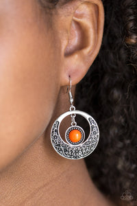 Wandering Waikiki Orange Earring