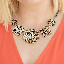 Load image into Gallery viewer, Here Kitty Kitty Brown Necklace