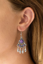 Load image into Gallery viewer, No Place Like HOMESTEAD Purple Earring