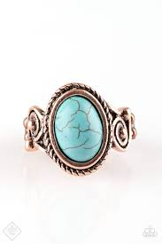 Cactus Creek Copper Ring