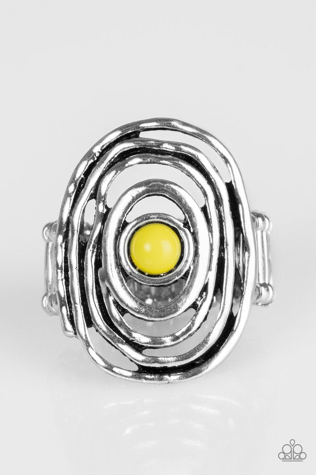 Colorfully Chaotic Yellow Ring