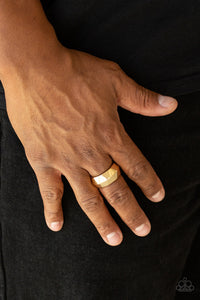 Industrial Mechanic Gold Ring
