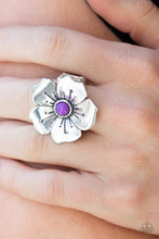 Load image into Gallery viewer, Boho Blossom Purple Ring