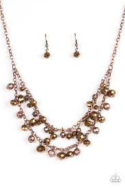 Fashion Show Fabulous Copper Necklace